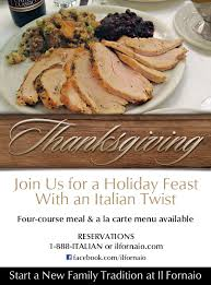 add il fornaio to your thanksgiving tradition