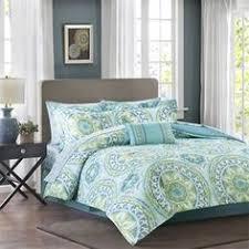 Tiffany Blue Comforter Sets 7 Piece Cal King Jolie Blue Comforter Set Blue Bedroom Decor