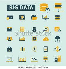 big data icons stock vector 401837629 shutterstock