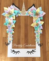 baby shower frames baby shower selfie frames unicorn party selfie frame limited