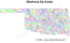 Zip Code Map Orlando by Oklahoma Zip Code Maps Free Oklahoma Zip Code Maps