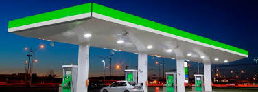 led gas station light gas station lighting energy efficient led lighting for gas stations