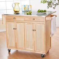 Unfinished Kitchen Pantry Cabinet Kitchen Furniture Kitchen Light Brown Pine Wood Portable Pantry