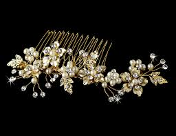 bridal hair comb comb 039 g wedding hair flowers