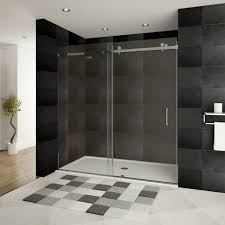 bathroom sliding glass door