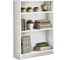 2 Shelf White Bookcase Buy Home 2 Shelf Small Bookcase White At Argos Co Uk Your