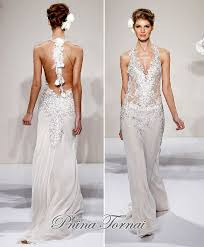 kleinfeld bridesmaid low back pnina tornai wedding gown at kleinfeld bridal