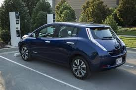 new nissan leaf leaked photos of new all electric leaf provide first look at