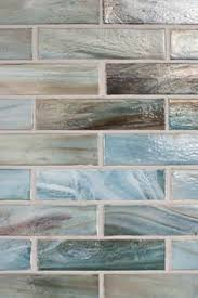 Stainless Tile Kitchen Backsplash With Dark Blue Glass Tile - Blue pearl granite backsplash ideas