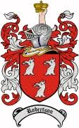 coat of arms robertson family crest