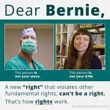 Common Sense Meme - dear bernie here s how rights work common sense with paul