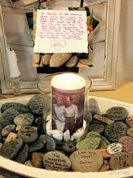 here s a wonderful idea for a memorial service celebration