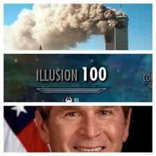 Meme Skyrim - bush did 9 11 skyrim skill tree know your meme