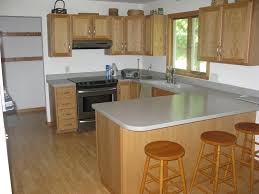 Kitchen Design With Bar Counter Furniture Modern Kitchen Design With Corian Countertops And