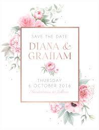 Digital Save The Date Digital Invitations Electronic Wedding Invitations Fuchsia Designs