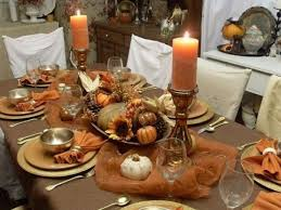 thanksgiving dinner table decorations martaweb