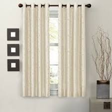 Thermal Window Drapes Maytex Mills Jardin Embroidered Thermal Window Curtain 54 By 63