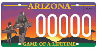 License Plate Map Of The United States by New Diamondbacks Look Extends To License Plate