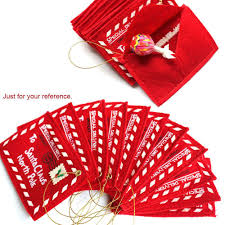 selling fashion red greeting card cute christmas envelopes