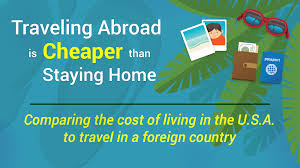 traveling abroad images Traveling abroad is cheaper than staying home infographic the jpg