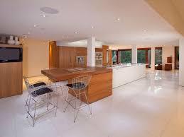 island kitchen tile floors travertine tile in kitchen semi circle island kitchen