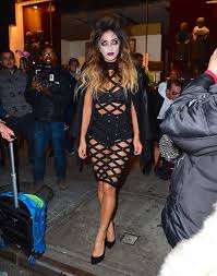 halloween event nyc nicole scherzinger at heidi klum halloween party in new york 10 31