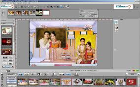 wedding album design software photo as a background karizma pro album designing software