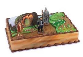 lord of the rings cake topper bakery crafts the hobbit cake topper kit 3