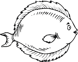 tropical fish clipart funny fish pencil and in color tropical