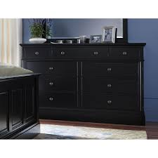 art van dressers most spectacular design black stained finish