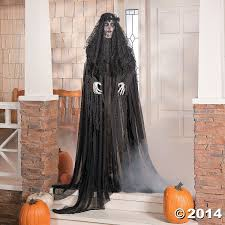 halloween witches decorations amazon com halloween prop lifesize floating witch decoration