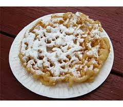 funnel cake eat at the state fair and stay healthy