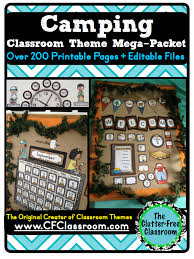 themed sayings camping themed classroom free ideas photos tips bulletin board