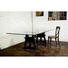 industrial glass dining table 37 best industrial simplicity images on pinterest vintage