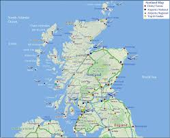 map of and scotland scotland map