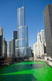 st patrick u0027s day chicago turns green groupon