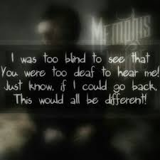 Blind To You Lyrics 59 Best Lyrical Life Images On Pinterest Band Quotes Front
