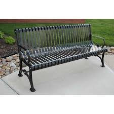 Park Benches Coated Metal Benches Metal Outdoor Benches National Outdoor