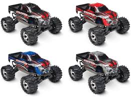 traxxas monster jam rc trucks amazon com traxxas 67054 1 stampede 4x4 monster truck ready to