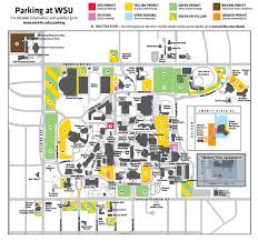 K State Campus Map by Wsu Main Campus To Become A Permit Only Parking Environment