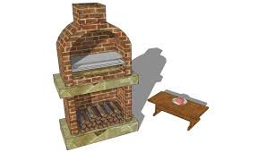 Outdoor Brick Fireplace Grill by Plans Outdoor Brick Grill Plans Image Outdoor Brick Grill Plans