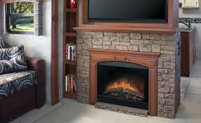 Built In Electric Fireplace Dimplex 39 In 2 Sided Built In Electric Fireplace Insert
