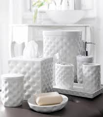 Ceramic Bathroom Fixtures Bathroom Contemporary Bathroom Accessory Sets Accessories