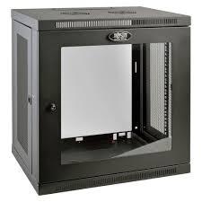 low profile av cabinet tripp lite smartrack 12 unit low profile wall rack enclosure cabinet