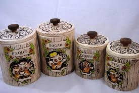 owl canisters for the kitchen owl kitchen canisters sets new furniture