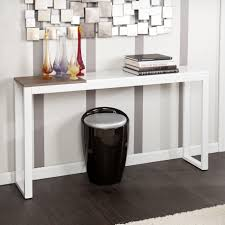Hallway Accent Table Console Table Ideas Narrow Modern Console Table For Your Entryway