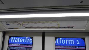 Vancouver Skytrain Map Skytrain Vancouver Mark Iii Map Announcements Youtube