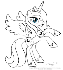 my little pony coloring pages princess luna bltidm