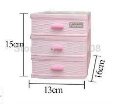 Desktop Cabinet Online Plastic Storage Box 1 Set 4 Layer Mini Caixa Jewelry Gift Boxs