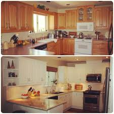 Small Kitchen Before And After Photos by Kitchen Kitchen Remodels On A Budget Light Fixtures Granite